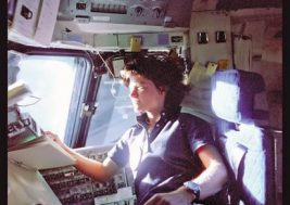 Sally Ride, STS-7, 1983