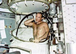 1973 Showering On Skylab